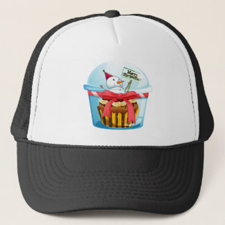 kids in class room trucker hat