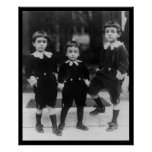 Kids in Little Lord Fauntleroy Suits 1914 Posters
