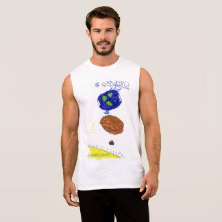 Kids in space sleeveless shirt