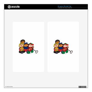 Kids in Wagon Kindle Fire Skins