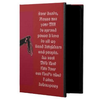 Kids inspirational Christmas prayer iPad Case