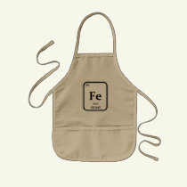 Kids Iron (element) Chef Apron