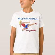 Kid's Jessie Graff Ninja Shirt at Zazzle