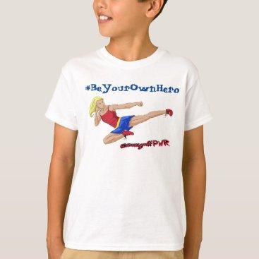 JESSIEgraffPWR Kid's Jessie Graff Ninja Shirt