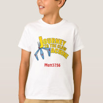 Kid's Journey to the Claw t shirt