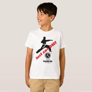 """Kid's """"Just Say Osu Tenshin"""" Kai Karate T-Shirt"""