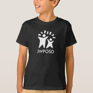 Kids' JWPOSD Black T-Shirt