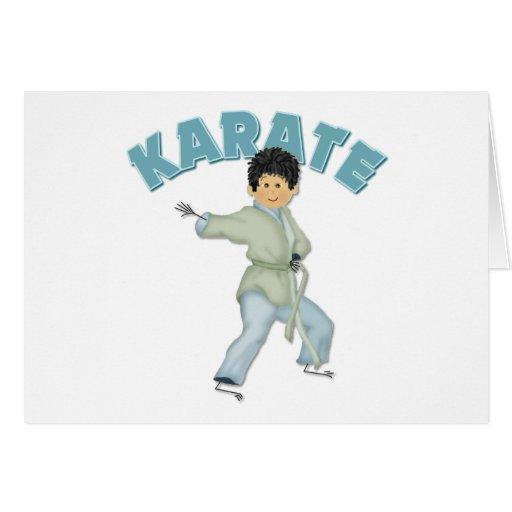 Kids Karate Gift Greeting Card
