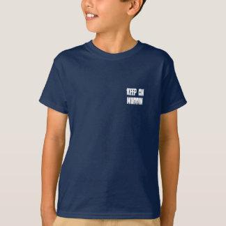 Kids Keep on Muddin ATV T-Shirt