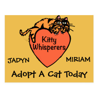 KIDS KITTY WHISPERER CARD