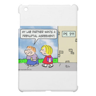 Kid's lab partner wants prenuptial agreement iPad mini covers