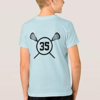 Kid's Lacrosse Number shirt