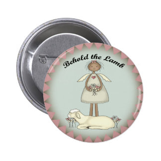 Kids Lamb T Shirts and Gifts 2 Inch Round Button