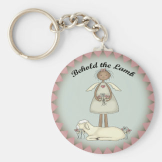 Kids Lamb T Shirts and Gifts Keychain