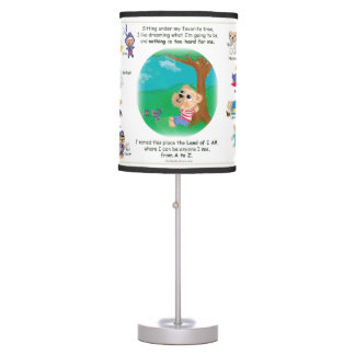 Kids Lamp - Bailey Bear in the Land of I AM