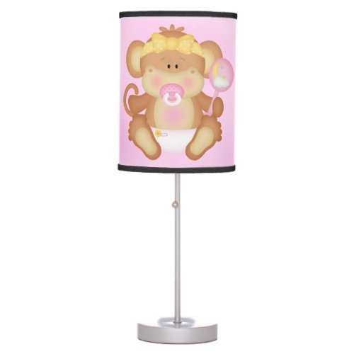 Kid's Lamp Cute Baby Monkey