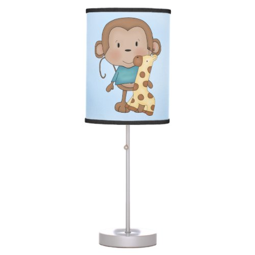 Kid's Lamp Cute Baby Monkey Boy