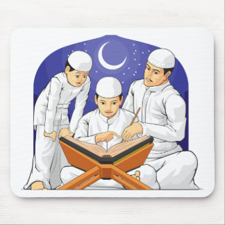 Kids Learn to Read Al-Quran with Their Parent Mouse Pad