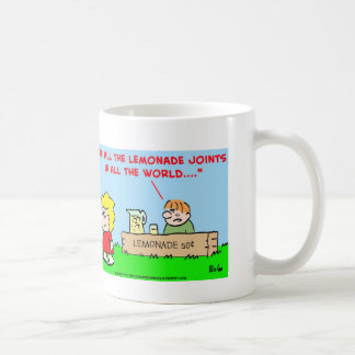 kids, lemonade, casablanca coffee mug