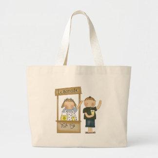 Kids Lemonade Stand Tote Bag
