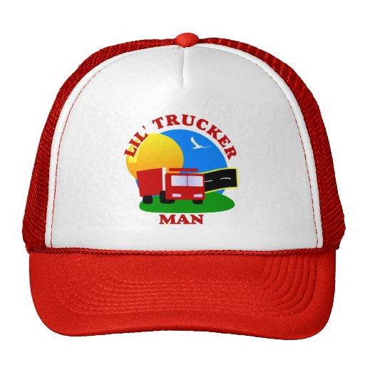 Kids Little Trucker Man Hat