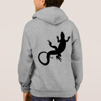 Kid's Lizard Hoodie Kids Hooded Lizard Jacket