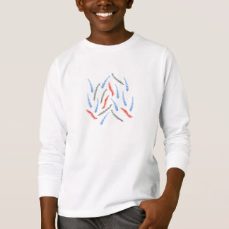 Kids' long sleeve T-shirt with branches