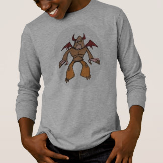 Kids long-sleeved gargoyle tee