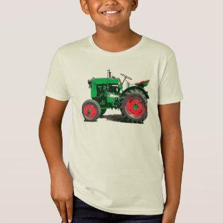 Kids Love A Big Green Tractor T-Shirt