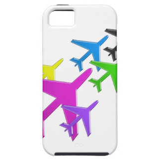 KIDS LOVE Aeroplane avion vol voyageurs GIFTS FUN iPhone SE/5/5s Case