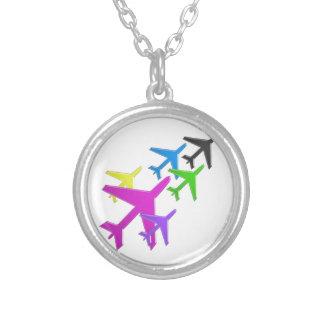 KIDS LOVE Aeroplane avion vol voyageurs GIFTS FUN Custom Necklace
