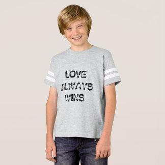 Kids' Love Always Wins Shirt