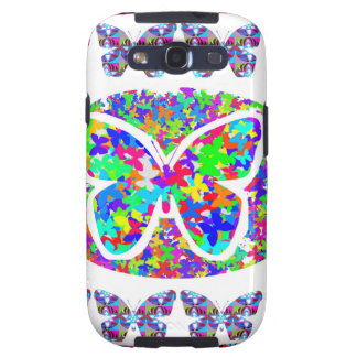 KIDS love Butterflies - Happy Christmas n New Year Galaxy S3 Cover