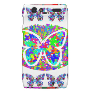 KIDS love Butterflies - Happy Christmas n New Year Droid RAZR Cover