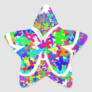 KIDS love Butterflies : RETURN GIFTS for parties Star Sticker