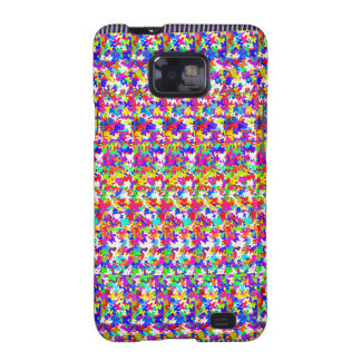 KIDS love butterfly pattens Artistic Texture Cute Samsung Galaxy S2 Case