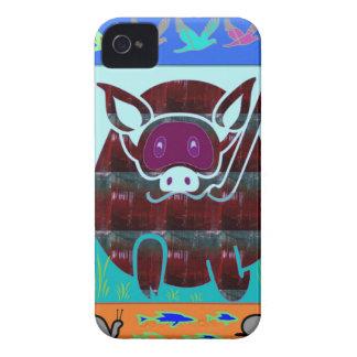 KIDS love Cartoon Animals Case-Mate iPhone 4 Cases
