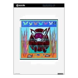 KIDS love Cartoon Animals Decals For The iPad 2
