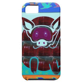KIDS love Cartoon Animals iPhone SE/5/5s Case