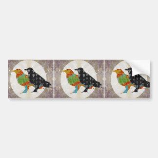 Kids Love Crow Bird Wild Zoo Bumper Sticker