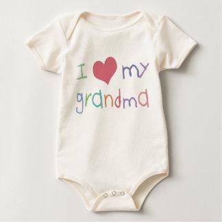 Kids Love Grandma Organic Infant /Creeper Baby Bodysuit