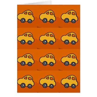 Kids LOVE : Mini Mini Toy Cars Card
