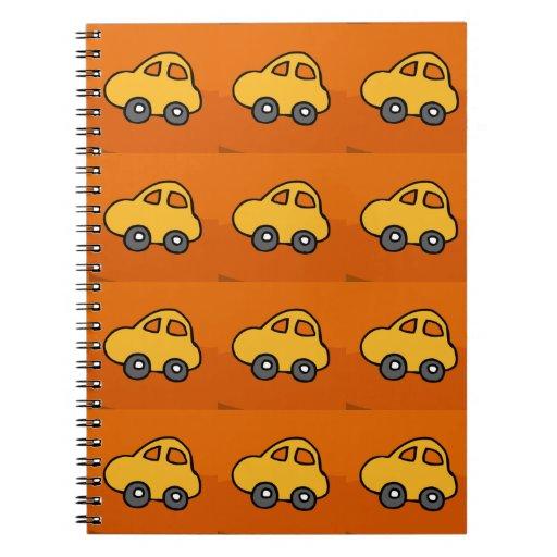 Kids LOVE : Mini Mini Toy Cars Spiral Notebooks