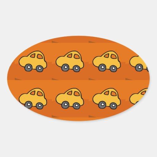 Kids LOVE : Mini Mini Toy Cars Stickers
