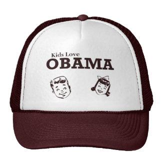 Kids Love Obama Trucker Hat