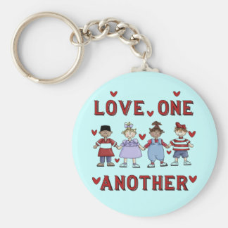 Kids Love One Another T-shirts and Gifts Key Chain
