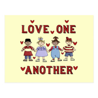 Kids Love One Another T-shirts and Gifts Postcard