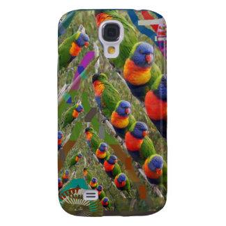 KIDS love Parrots Galaxy S4 Cases