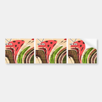 KIDS love Parrots Secret LadyBug Waves Gateway fu Bumper Stickers