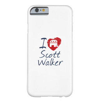 Kids Love Scott Walker 2016 Scribble Design Barely There iPhone 6 Case